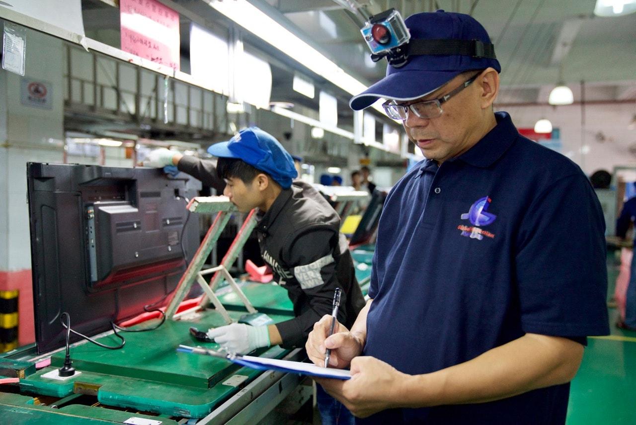 Vous pouvez suivre en temps réel vos inspections dans toute l'Asie.